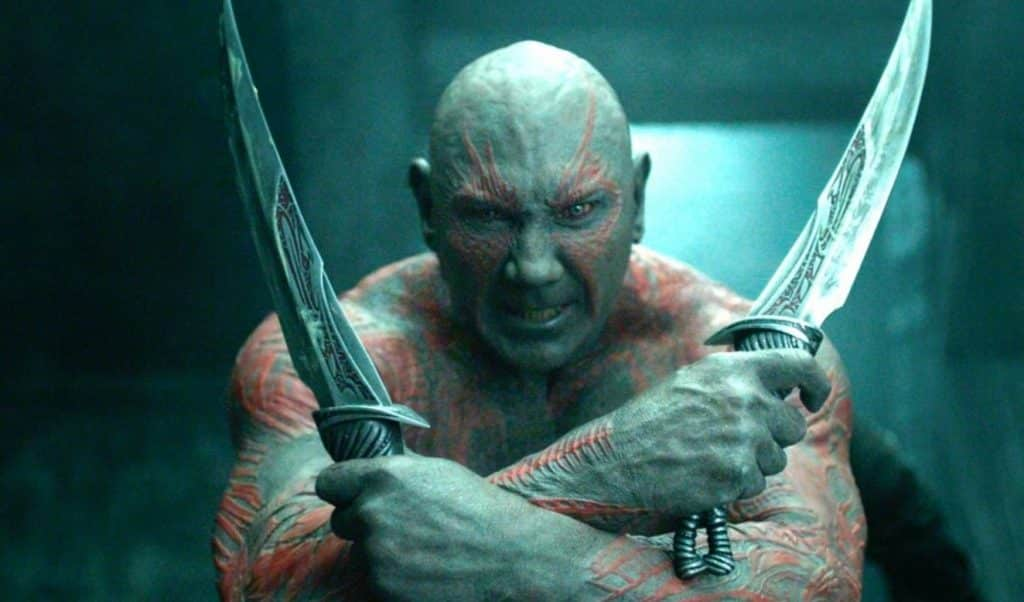 Dave Bautista Drax Guardians of the Galaxy James Gunn