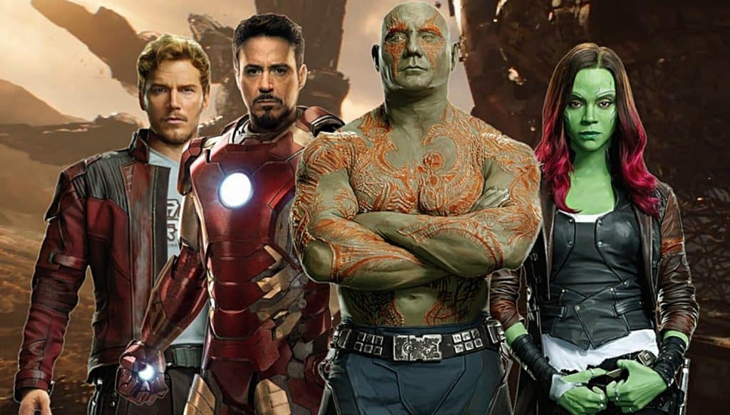 Guardians of the Galaxy Vol. 3 Avengers 4