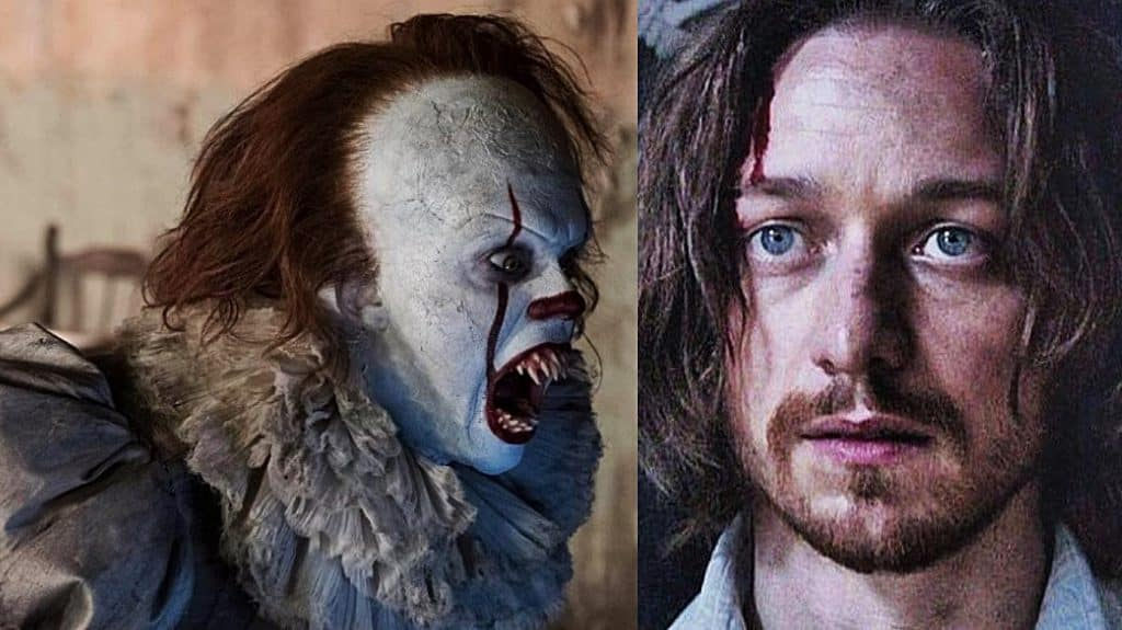 IT: Chapter 2 James McAvoy Pennywise