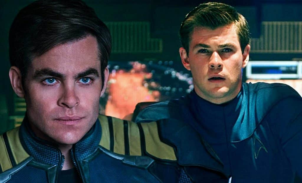 Star Trek 4 Chris Pine Chris Hemsworth