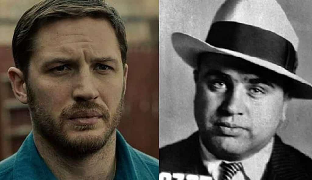 Tom Hardy Al Capone Fonzo