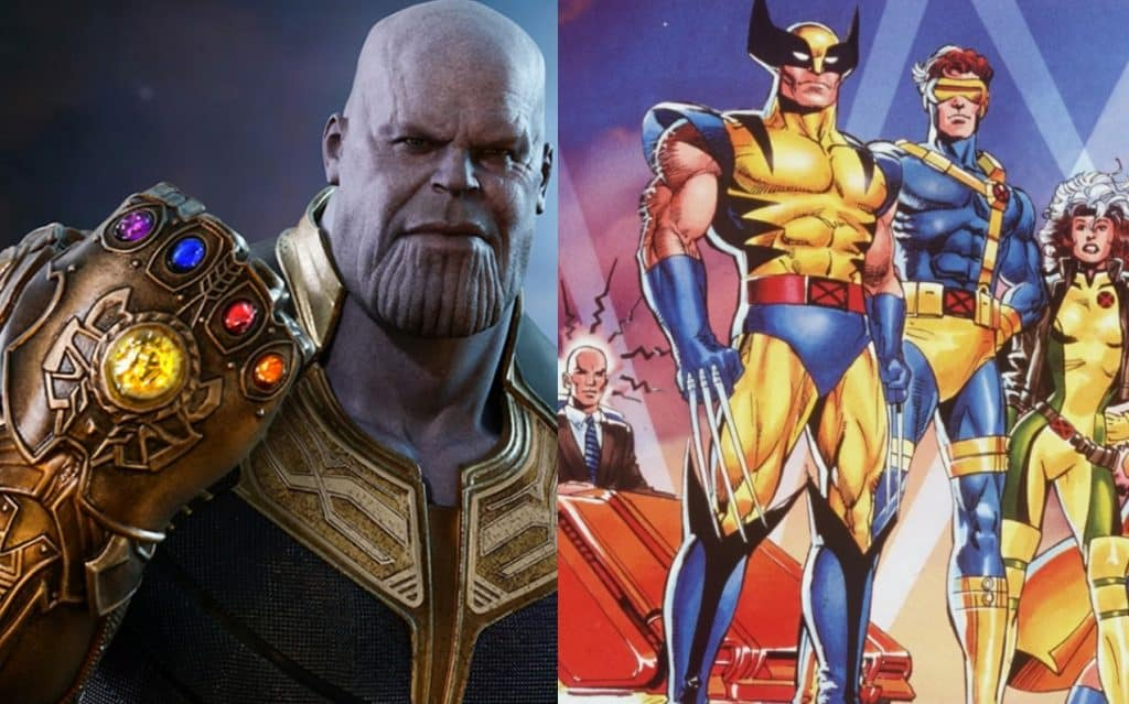 X-Men MCU Infinity Gauntlet