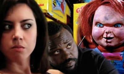 Child's Play Aubrey Plaza Brian Tyree Henry