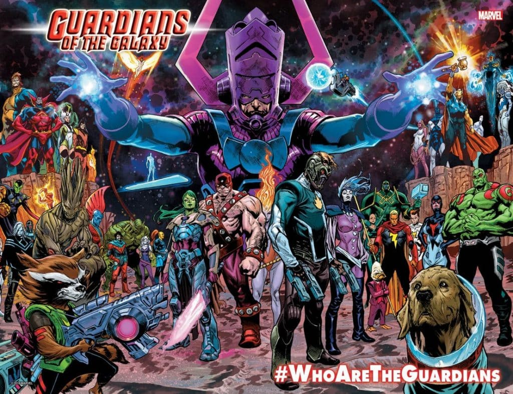Guardians of the Galaxy Marvel Comics Reboot