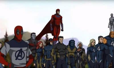 Avengers 4 Animated Trailer