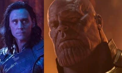 Avengers 4 Loki Thanos