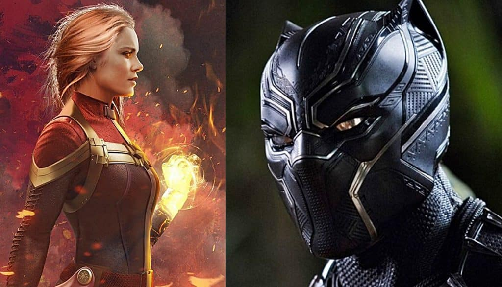 Captain Marvel Black Panther 2 MCU