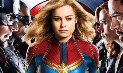 Captain Marvel Captain America: Civil War Easter Egg