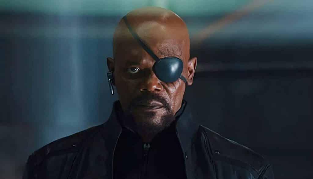 Captain Marvel Nick Fury Samuel L. Jackson