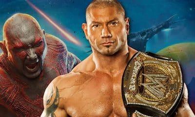 Dave Bautista WWE Marvel