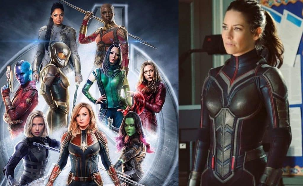 Evangeline Lilly A-Force Marvel MCU