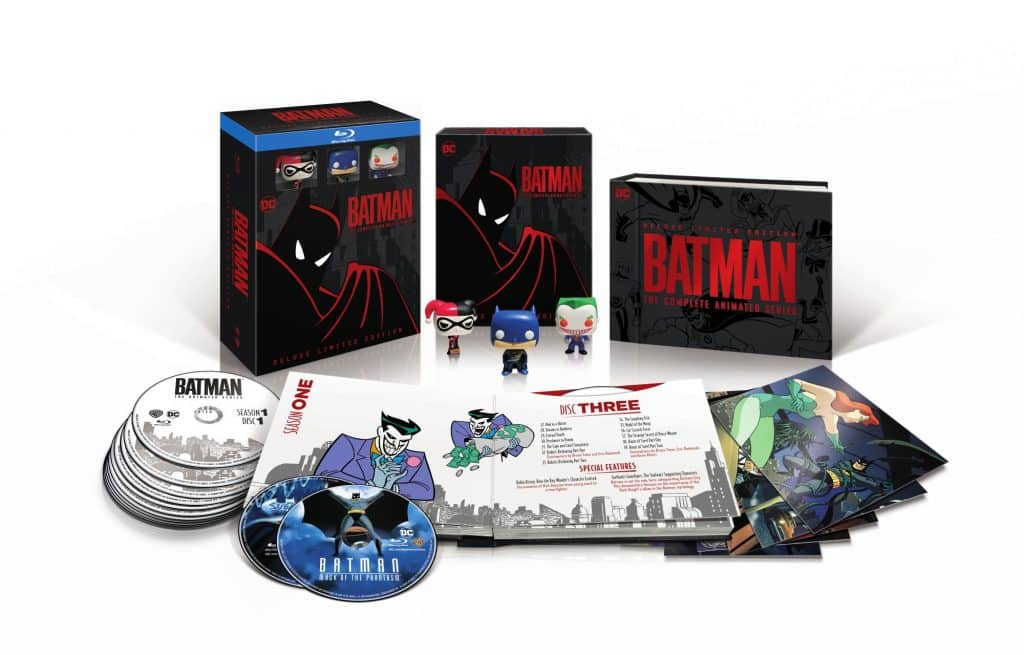 Batman The Animated Series Complete Deluxe Limited Edition