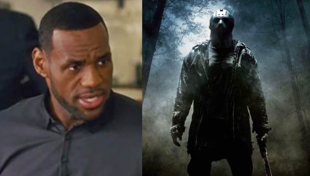 Friday the 13th LeBron James