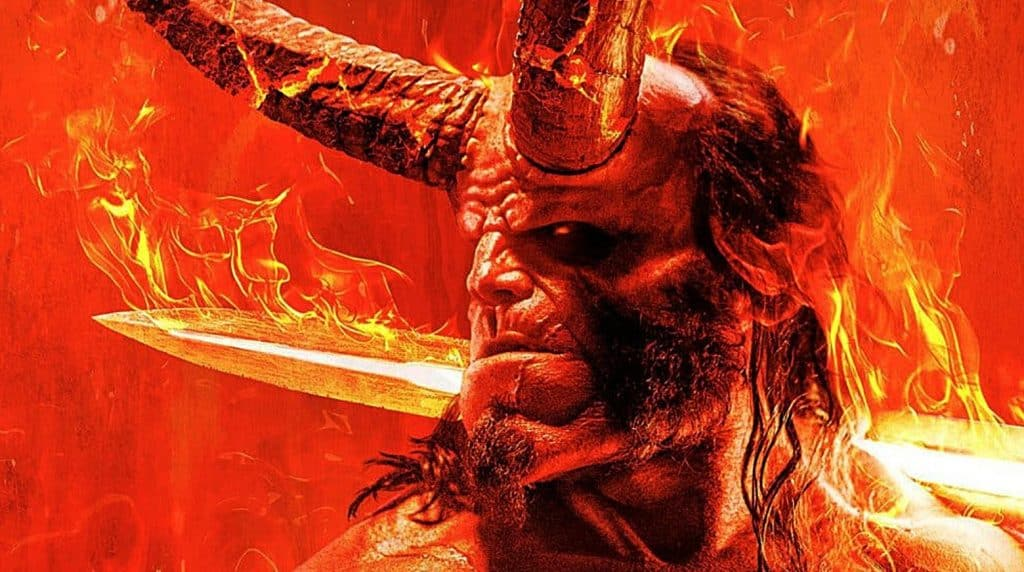 Movie Poster 2019: 'Hellboy' Movie Reboot Poster Reveals New Look At David