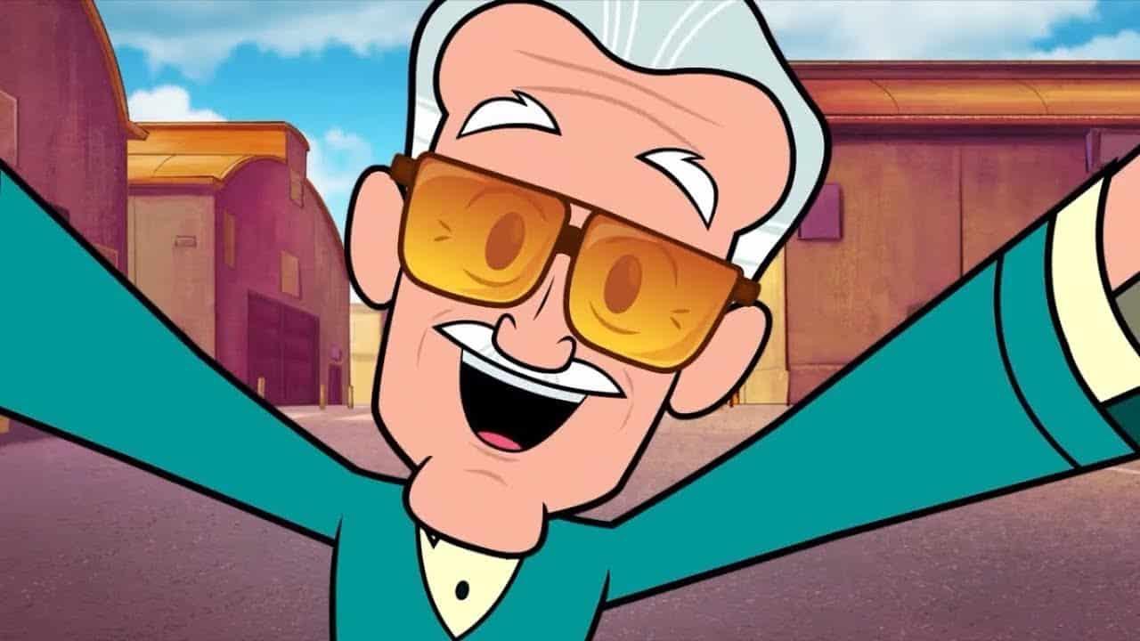 Stan Lee Teen Titans Go