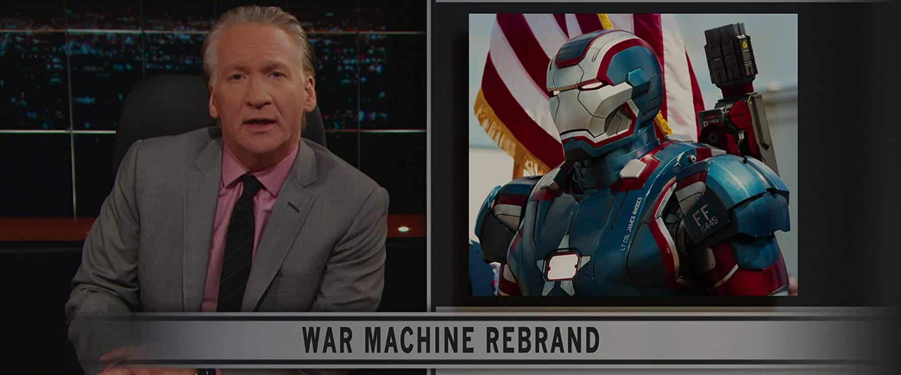 Bill Maher Iron Man 3 Cameo