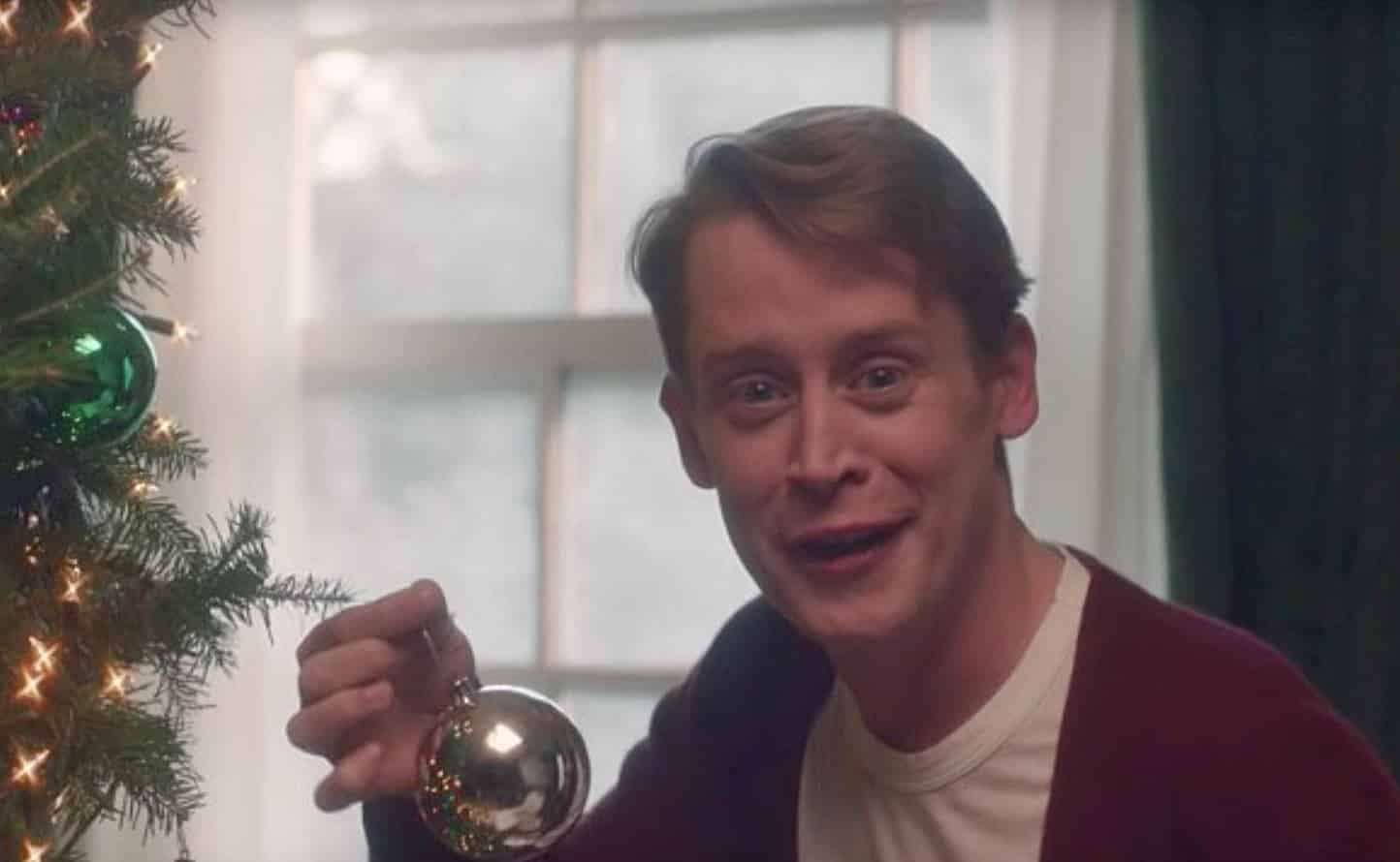 Macaulay Culkin Home Alone Google Ad