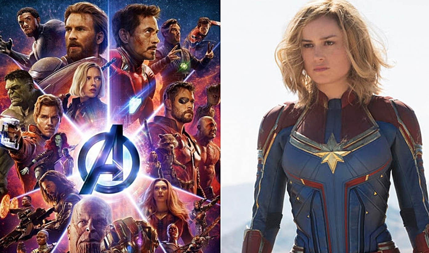 exclusive: 'avengers 4' and 'captain marvel' trailers