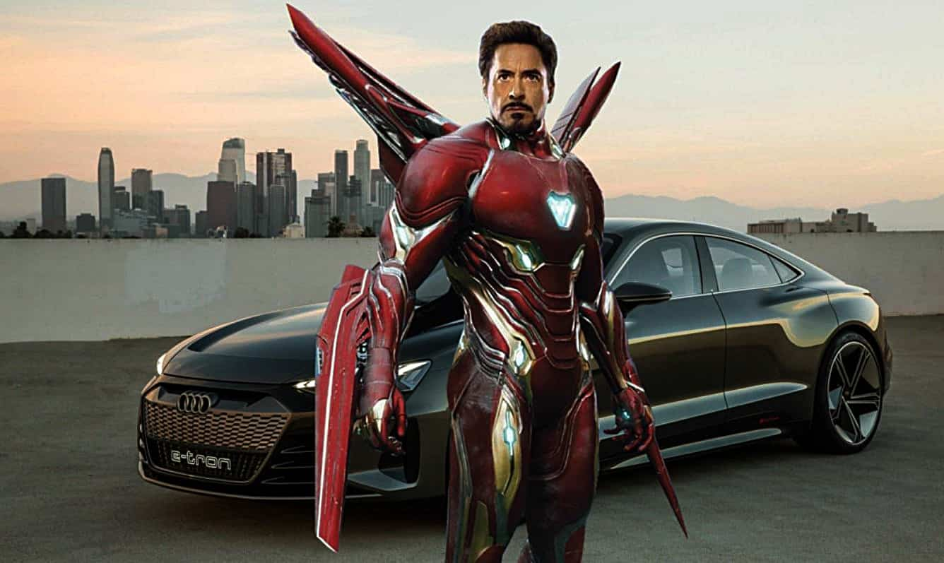 Avengers: Endgame Audi Iron Man Tony Stark