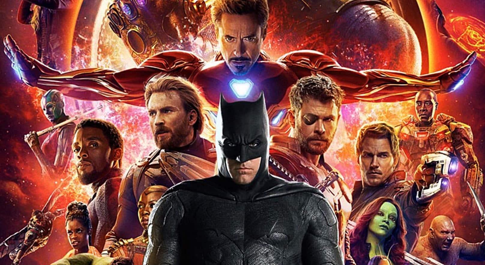 Marvel DC Movies MCU DCEU