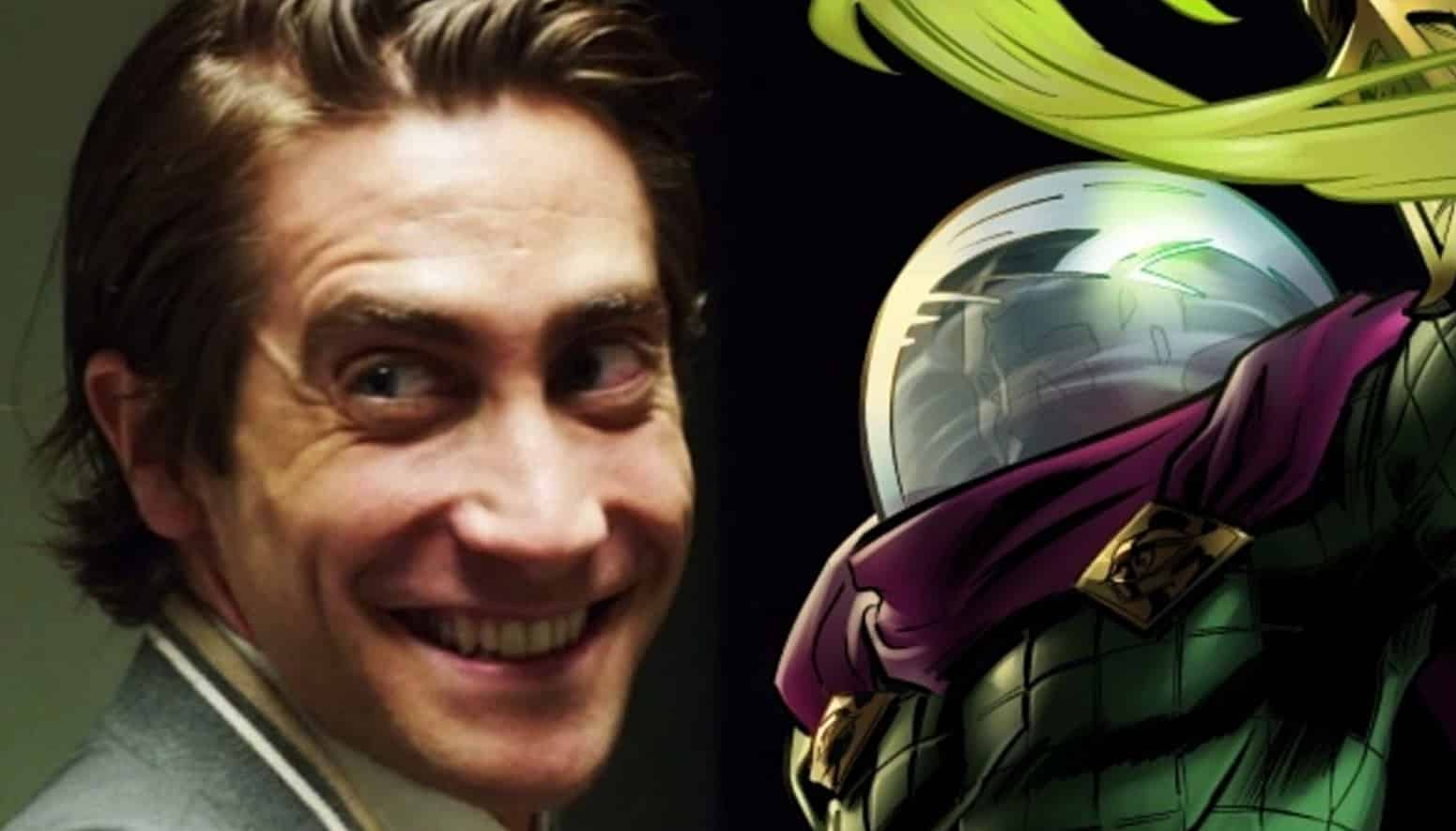 Spider Man Far From Home Promo Art Reveals Jake Gyllenhaal S Mysterio