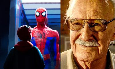 Stan Lee Spider-Man: Into The Spider-Verse Cameo