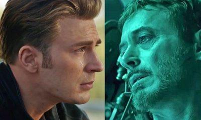 Avengers: Endgame Captain America Iron Man