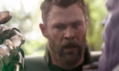 Avengers: Infinity War Snap Thanos Thor