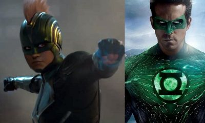 Captain Marvel Green Lantern