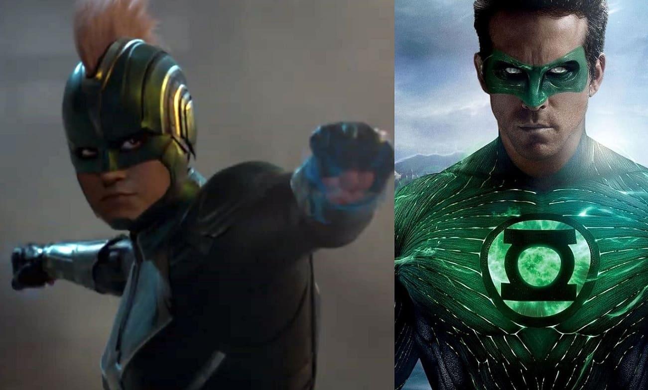 Captain Marvel Green Lantern
