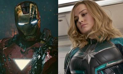 MCU Captain Marvel Iron Man