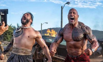 Roman Reigns Fast and Furious Hobbs And Shaw