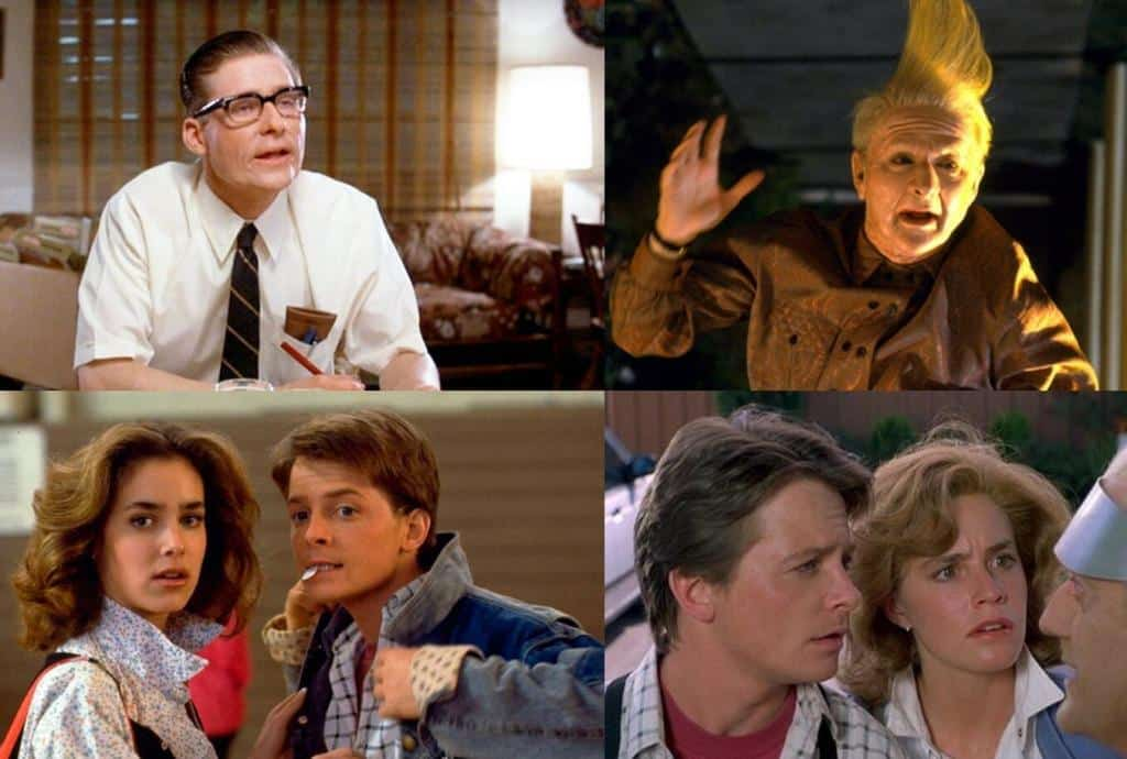 Back to the future different actors