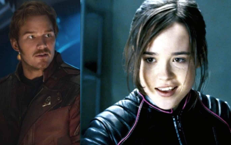 Chris Pratt Ellen Page