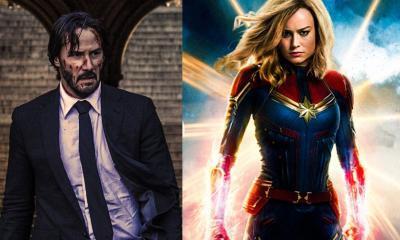 Keanu Reeves Captain Marvel
