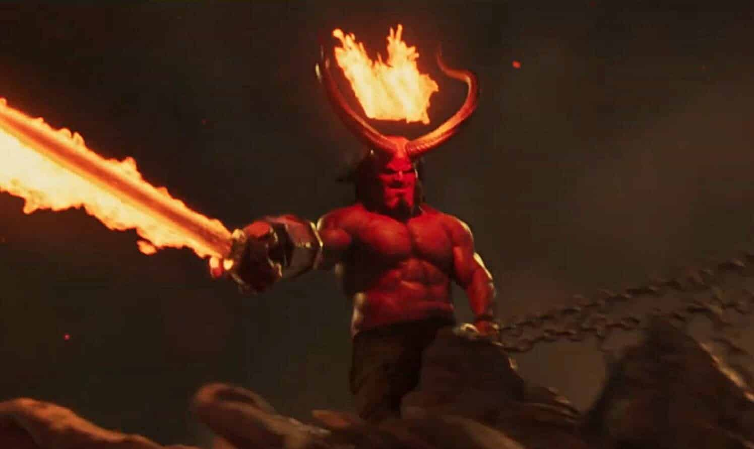 Movie Poster 2019: New 'Hellboy' Trailer Brings Plenty Of Blood And Gore