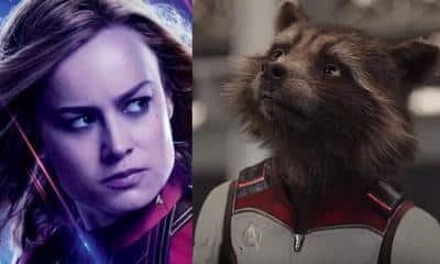 Avengers: Endgame Captain Marvel Rocket Raccoon
