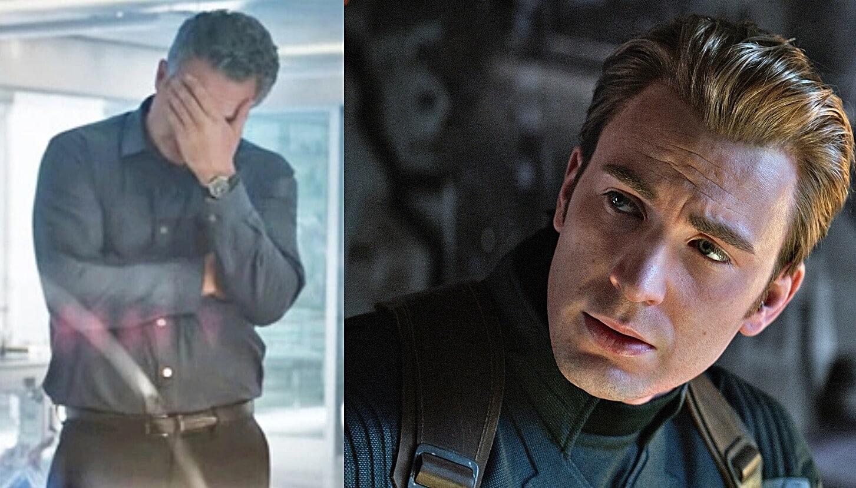 Avengers: Endgame Mark Ruffalo Captain America