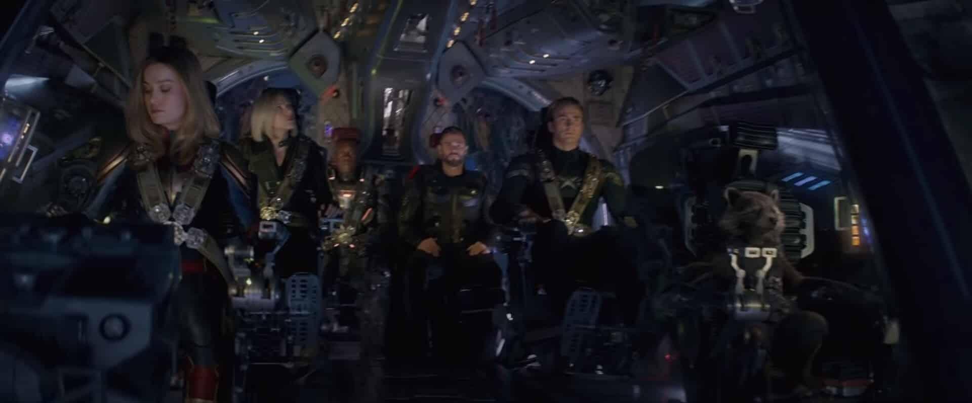 Avengers: Endgame Space Trip