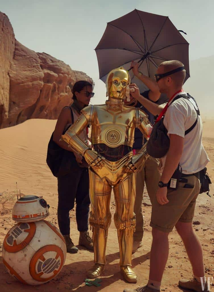C3PO the rise of skywalker