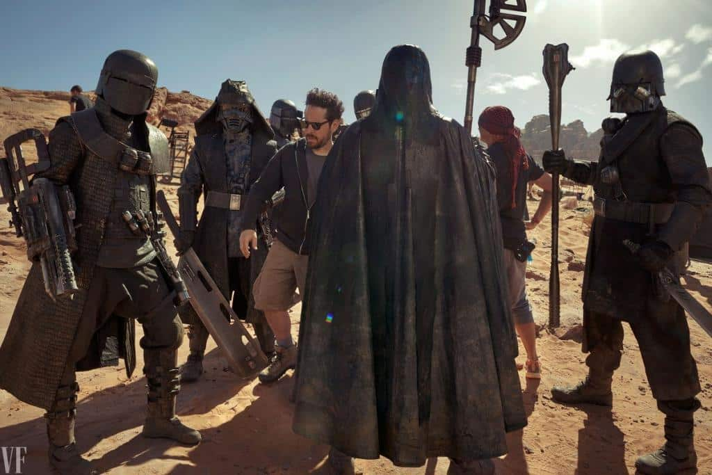 JJ and crew the rise of skywalker