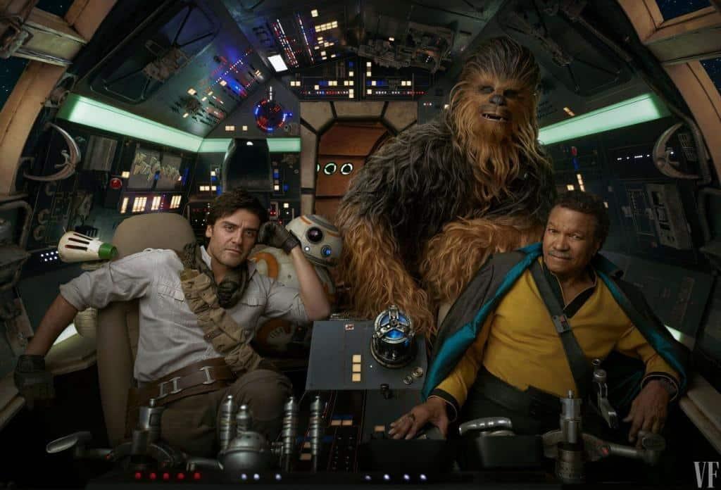 Lando Poe star wars