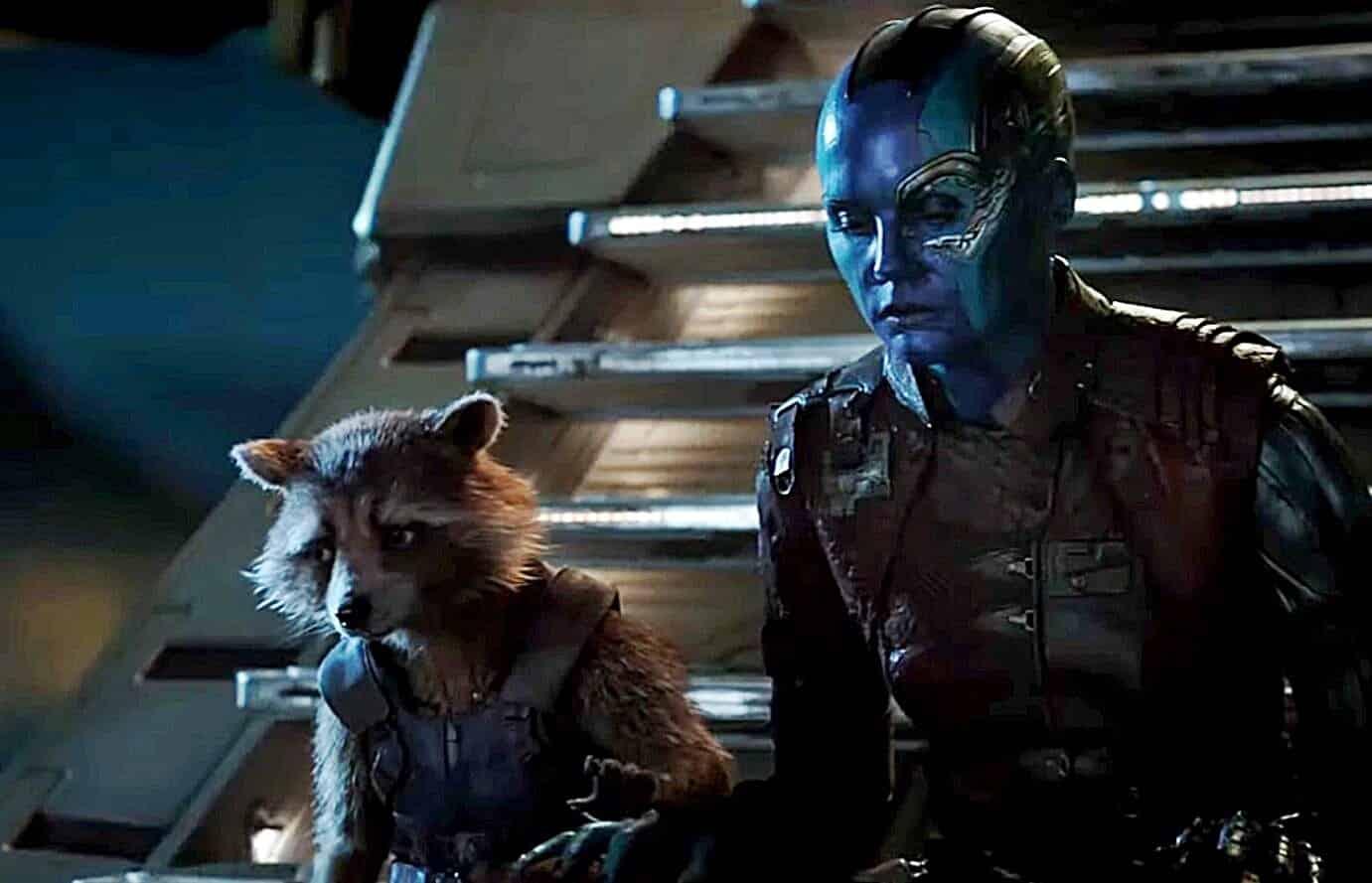 Avengers: Endgame Rocket Raccoon Neblua
