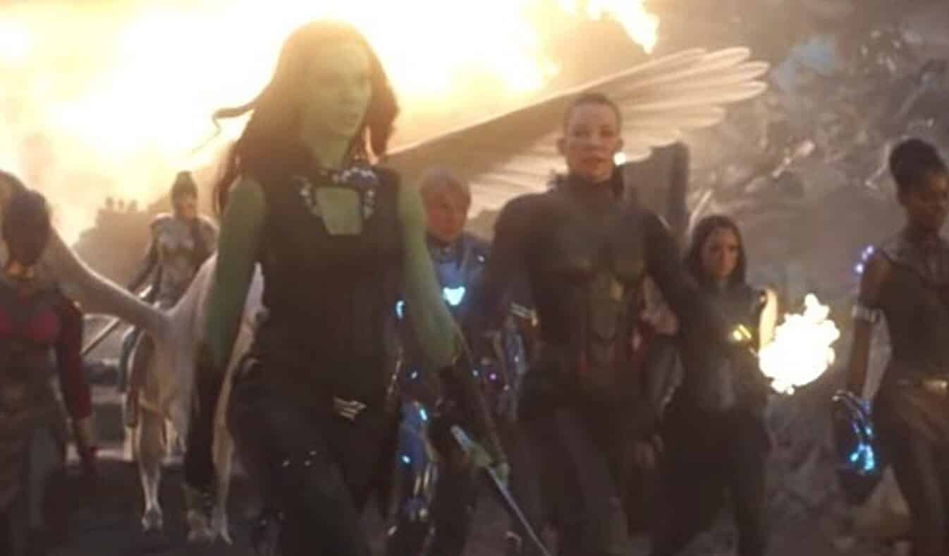 Avengers: Endgame All Female Scene