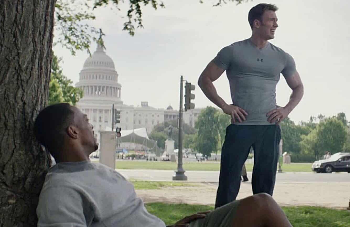 Avengers: Endgame Captain America Falcon