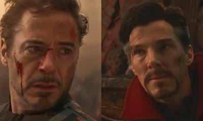 Avengers: Endgame Doctor Strange Tony Stark Infinity War