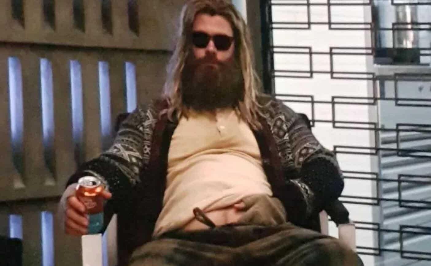 Avengers: Endgame Fat Thor