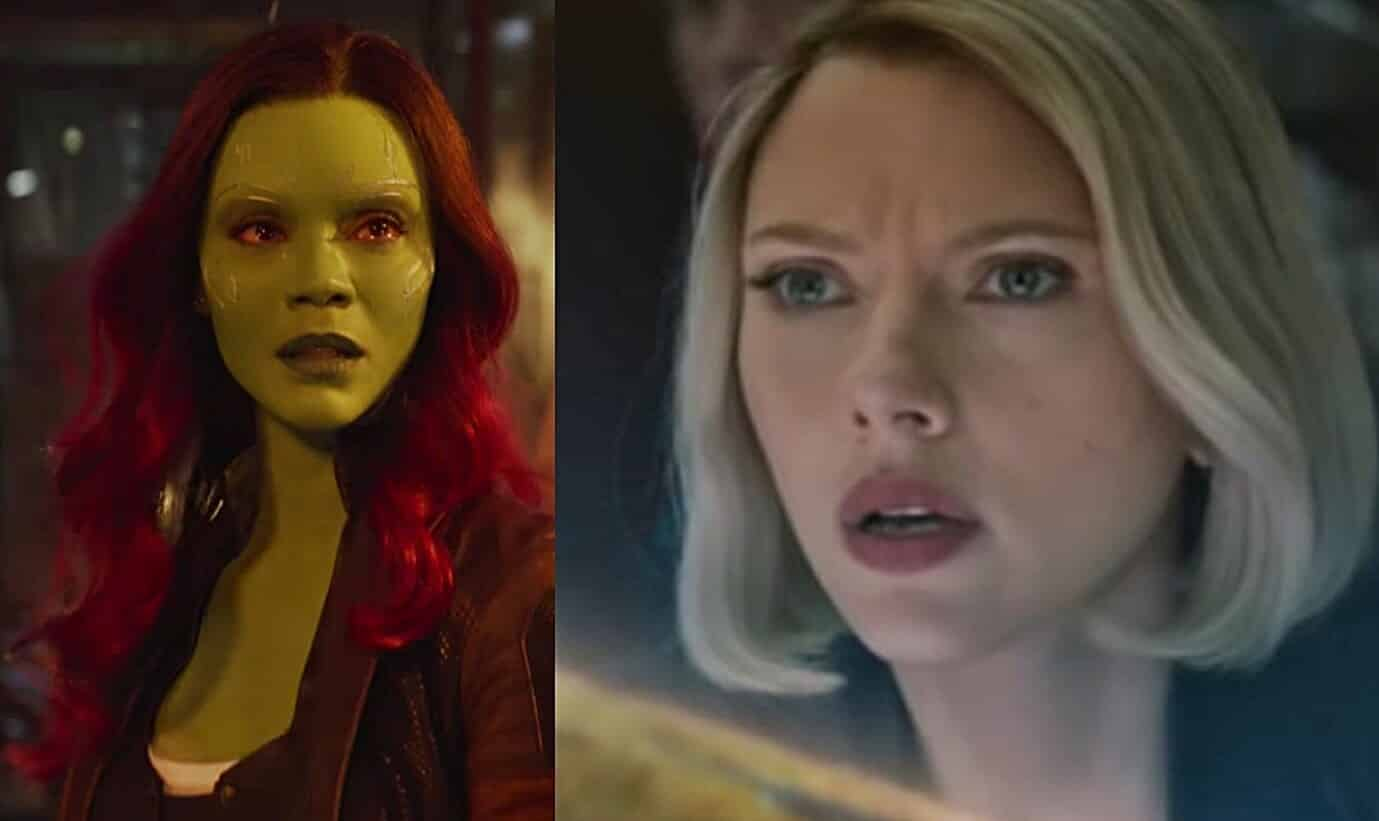 Avengers: Endgame Gamora Black Widow