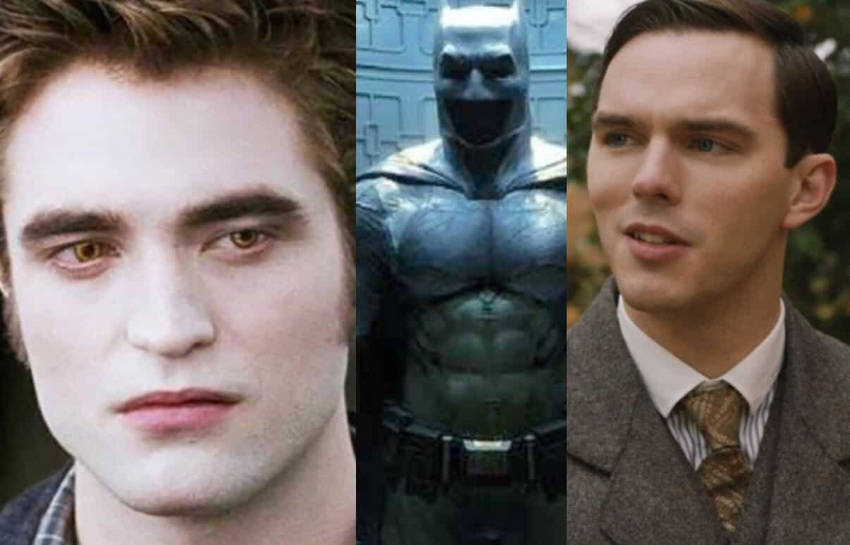 Batman Robert Pattinson Nicholas Hoult