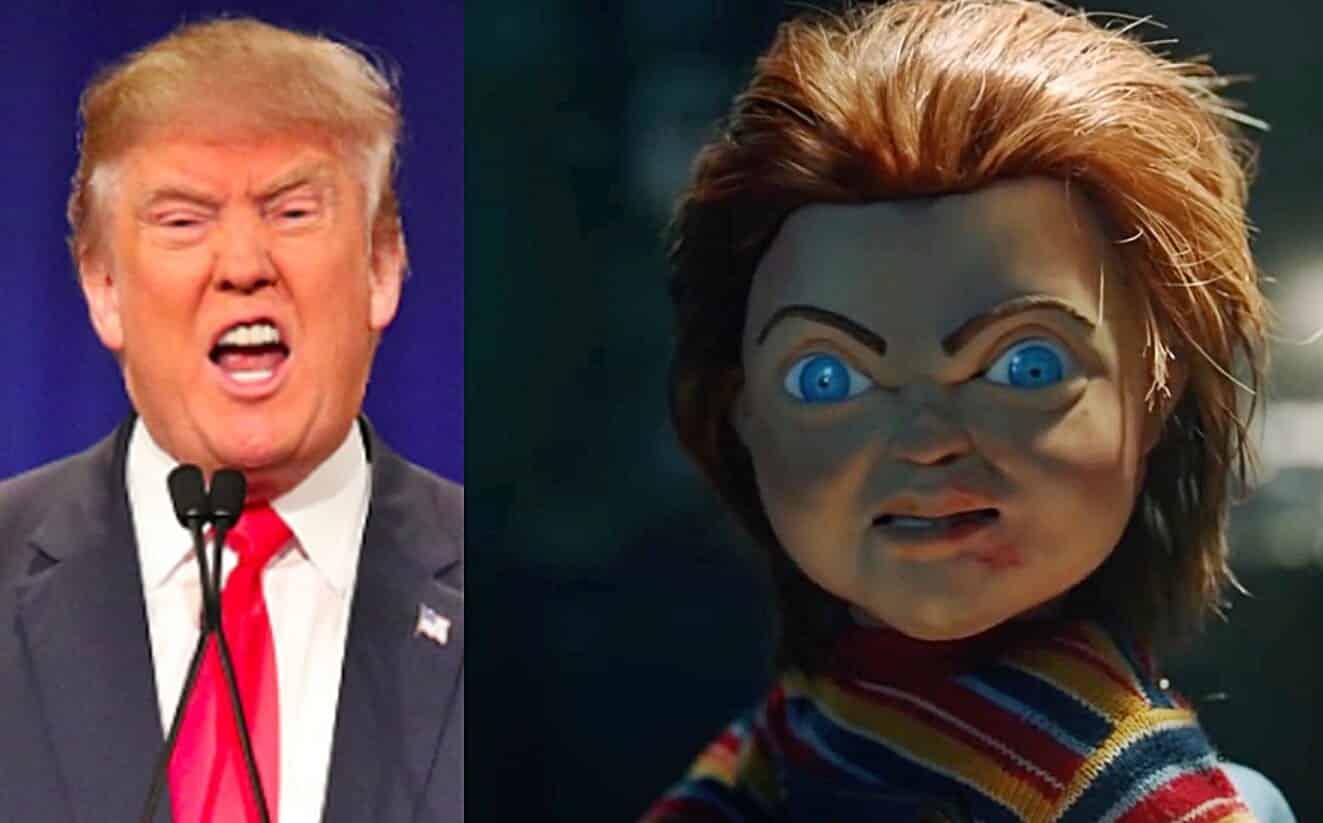 Child's Play Chucky Donald Trump